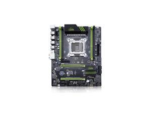 X79P ATX Motherboard Supports AMD Crossfire PCIE x16 Supports CPU E5 E5V2 2697V2 2680V2 LGA2011 Core I7 M.2 SSD Socket