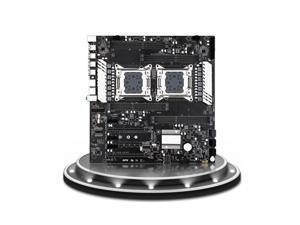 X79 Dual S8 Motherboard Cpu Xeon LGA 2011 E5 V2 V1 WS Workstation Motherboard X79 Dual Gigabit LAN 8*DDR3 up to 256GB