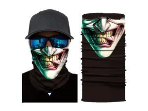 Skull Face Mask Shield Bike Neck Gaiter Balaclava Tactical Mask Bandana Headband Outdoor Multifunctional Face Mask