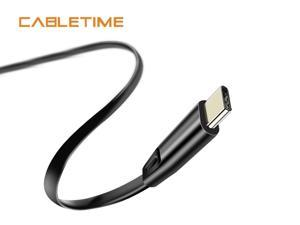 Cabletime USB C Cable for Oneplus 5 USB Cable to Type C Fast Charge Cable for Samsung S9 Huawei P10 Nintendo 1M/3.3FT