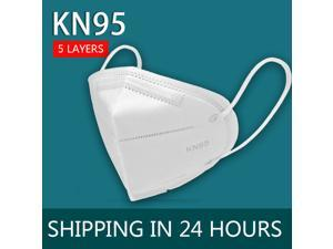 10 Pieces KN95 N95 Mask 5-layer Non-Disposable N95 FFP2 Face Mask 5-Layer Face Mask / Anti-Fog Prevent Mouth Respirator Windproof PM 2.5 Fine Air Filter Odor Smog Cotton Dust Mouth Face Masks