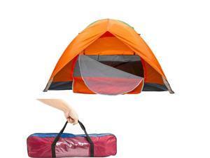 Waterproof 2 Door People Automc Instant Pop Up Tent Outdoor Camping Hiking