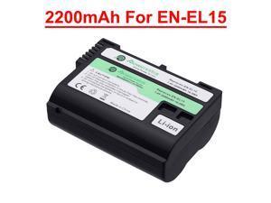 EN-EL15 EN EL15a Battery For Nikon D7500 D7200 D7100 D7000 D850 D750 D500 DSLR