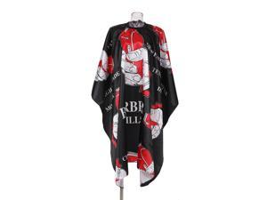 Hairdressing Gown Cape Hair Design Cut Salon Hairstylist Barber Nylon Cloth Waterproof Wrap Protect