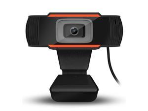 720P Webcam Computer USB Camera with Microphone For Live Streaming Online Teaching Video Calling, Conferencing, Gaming