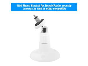 1 Pack Adjustable Mount Wall Table Ceiling Security Bracket for Zmodo/Funlux Camera , White