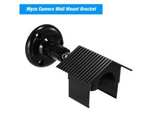 Wyze Camera Wall Mount Bracket 360 Degree Protective Adjustable Mount with Weather Proof Cover Case Indoor and Outdoor for WyzeCam and iSmartAlarm Spot Camera Anti-Sun Glare UV Protection
