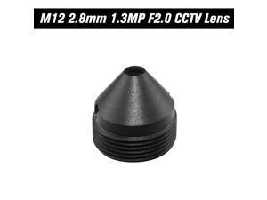 "HD 1.3 Megapixel Pinhole Lens 2.8mm M12 Mount MTV Board CCTV Lens 1/3"" Image Format Aperture F2.0 Fixed Iris for HD Security Cameras"