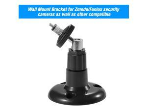 1 Pack Adjustable Mount Wall Table Ceiling Security Bracket for Zmodo/Funlux Camera  , Black