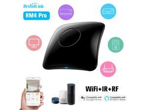 BroadLink RM4 Pro WiFi Smart Home Automation Universal Remote Controller WiFi+IR+RF Switch App Control Timer Compatible with Alexa Smart Home Automation