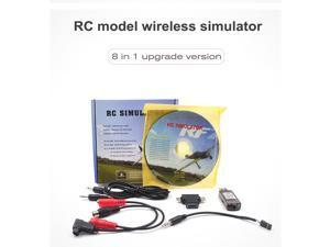 STARTRC 8-in-1 RC Flight Simulator Wireless Simulator for Flysky i6x FUTABA Radiolink AT9s AT10