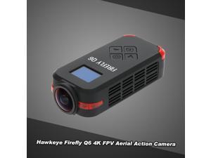 Original Hawkeye Firefly Q6 4K HD FPV Aerial Camcorder 120° Wide Angle Action Camera for ZMR250 QAV250 GoolRC 210 QAV180 Racing Drone