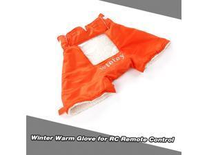 RC Transmitter Warm Glove Winter Wind Shelter Remote Controller Holder for FrSky X9D Spektrum Futaba