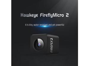 Hawkeye Firefly Micro Cam 2 Mini Camera HD 2.5K Waterproof 160 Degree for RC Racing Drone Aerial Photography