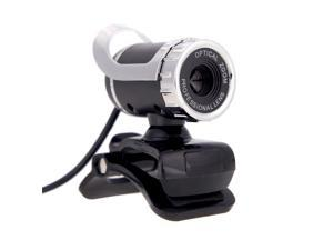 Desktop Webcam USB 2.0 Web Cam Laptop camera Built-in Sound-absorbing Microphone Video Call Webcam for PC Laptop Silver