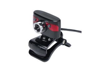 USB 2.0 12 Megapixel Camera Web Cam 360 Degree with Microphone Clip-on for Desktop Skype Computer PC Laptop