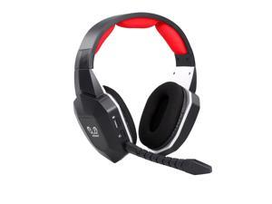 HW-N9U Wireless Gaming Headset 2.4GHz Optical Gaming Headphone Virtual 7.1 Channel Surround Sound Gaming Headset for PS4/PC/Mac