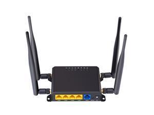 X10 4G LTE OpenWRT Smart Router Extender High Power SIM Card WiFi Wireless External 5dbi Antenna Modem 300Mbps Qualcomm Chip CPE EU Version