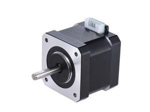 1pcs Nema 17 Stepper Stepping Motor Drive Control 2 Phase 1.8 Degree 0.9A 0.4N.M 42mm with 90cm Lead Cable 3D Printer/CNC Accessory Replacement