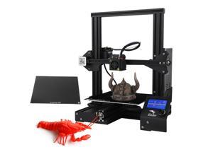 Creality 3D ender-3X Upgraded High-precision DIY 3D Printer Self-assemble 220 * 220 * 250mm Printing Size with Glass Plate