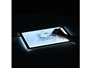 Huion L4S Protable Ultra-thin LED Light Pad Acrylic Panel LED Drawing Light Pad Powered by USB with Adjustable Brightness