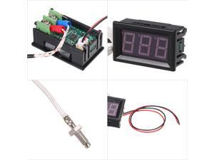 Microcomputer Intelligent Digital Temperature Controller with Dual Display ZFX-ST3012 24V/240W Electric Thermostat Temperature Control Switch