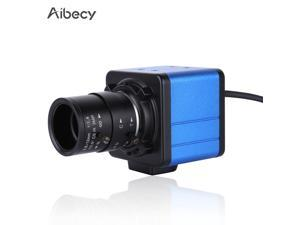 Aibecy 1080P HD Camera Computer Camera Webcam 2 Megapixels 5X Optical Zoom 155 Degree Wide Viewing Manual Focus Auto Exposure Compensation with Microphone USB Plug & Play for Video Conference Online