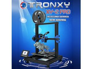TRONXY XY-2 Pro 3D Printer Kit Fast Assembly 255*255*260mm Build Volume Silent Printing Support Auto Leveling Resume Print Filament Run Out Detection with 8G TF Card & PLA Sample Filament 250g