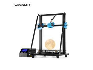 Creality 3D CR-10 V2 High Precision 3D Printer DIY Kit V-shaped Profile 300*300*400mm Printing Size Silent Motherboard Resume Print Filament Breakage Detection 8GB SD Card White PLA Sample Filament