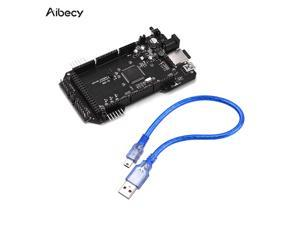 Aibecy Re-ARM 32-Bit Controller Board Mega 2560 3D Printer Board with USB Cable for 3D Printer Parts