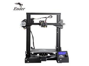 Creality 3D Ender-3 Pro High Precision 3D Printer DIY Kit MK-8 Extruder with Resume Printing Function Heatbed Support 220 x 220 x 250mm Printing Size for Home & School Use