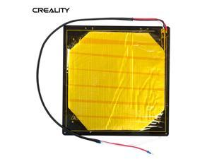 Original Creality 3D Printer Heated Bed Hotbed Heating Platform Aluminum Plate with Hotbed Wire Insulation Cotton Compatible with CR-10S Pro/CR-X 3D Printer
