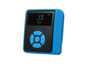 IPX7 Waterproof MP3 Player 4GB Music Player with Headphones FM Radio for Swimming Running Diving Support Pedometer