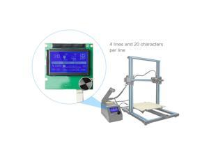 2004 LCD Screen Controller Display with Cable for Reprap Ramps 1.4 3D Printer Kit Accessory for Creality CR-10