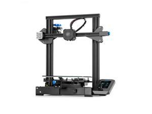 Creality 3D Ender-3 V2 3D Printer Kit All-Metal Integrated Structure Silent Mainboard New UI Display Screen Support Resume Printing 220*220*250mm Build Volume