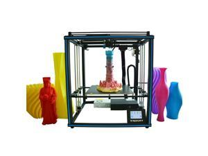 Tronxy New Upgraded High Accuracy 3D Printer DIY Kit Support Auto Leveling Resume Printing Filament Run Out Detection Building Size 400*400*400mm with Heatbed Touchscreen 8GB TF Card & PLA Sample