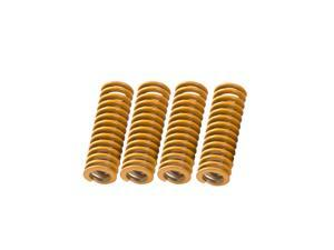 Creality 3D Printer Heated Bed Die Spring Compression Springs Length 25mm Inside Diameter 5mm for 3D Printer Extruder DIY Accessories Parts (Pack of 4pcs)