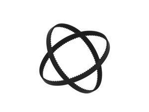 Aibecy GT2 Closed-Loop Timing Belt Rubber Synchronous Belts W=6mm L=110/112/158/200/280/400/610/852/1220mm 3D Printer Parts Kits Pack of 2pcs