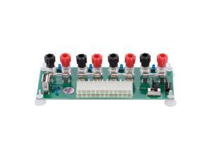 20/24 Pins ATX Desktop PC Power Breakout Adapter Power Supply Converter Card
