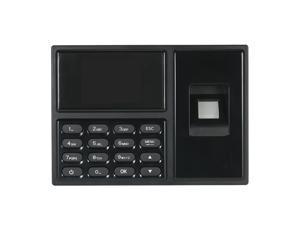 Intelligent Biometric Fingerprint Password Attendance Machine Employee Checking-in Recorder 2.4 inch TFT LCD Screen DC 5V Time Attendance Clock