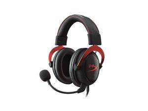 Kingston HyperX Cloud II 7.1 Channel Hi-Fi Gaming Headset with Noise Reduction Microphone for PC Game Console Phone Red