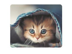 CAT-2 Mouse Pad Cute Cat Picture Anti-Slip Gaming Mouse Mat for PC Computer Laptop MackBook
