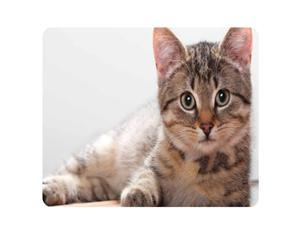 CAT-5 Mouse Pad Cute Cat Picture Anti-Slip Gaming Mouse Mat for PC Computer Laptop MackBook