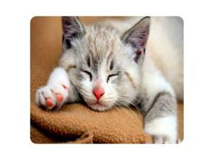 CAT-6 Mouse Pad Cute Cat Picture Anti-Slip Gaming Mouse Mat for PC Computer Laptop MackBook