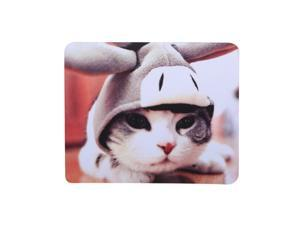 Mouse Pad Anti-Slip Mouse Mat Rubber Game Office Mousepad for Laptop Computer(Cat Pattern)
