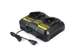 DCB102 Replacement Charger for DEWALT DCB102 20-volt MAX Jobsite Charging Station Dual USB Ports Dewalt Battery Charger Tools