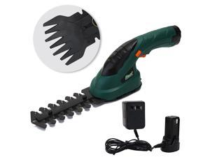3.6V 2-in-1 Multifunctional Cordless Grass Shear Hedge Trimmer Rechargeable Electric Lawn Mower Garden Tools