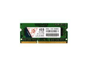JUHOR NB DDR3L 4GB 1600MHz 1.35V Laptop PC Memory PC RAM Low Power Consumption