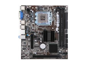 Jingsha Motherboard Mainboard Intel G41 Chipset SATA Port Socket LGA771 / LGA775 DDR3 8GB for Windows 7 / 10