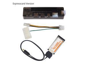 EXP GDC Laptop External PCIE Graphics Card for Expresscard Version